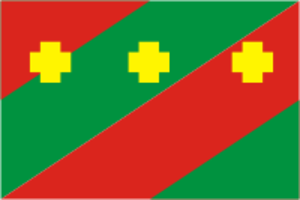 Troitsky District, Chelyabinsk Oblast - Image: Flag of Troitsk rayon (Chelyabinsk oblast)