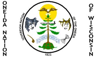 Oneida Nation of Wisconsin - Oneida Nation of Wisconsin Flag