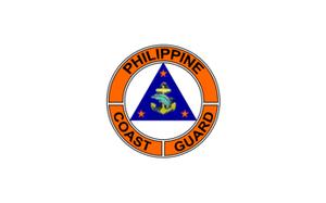 Scarborough Shoal standoff - Image: Flag of the Philippine Coast Guard