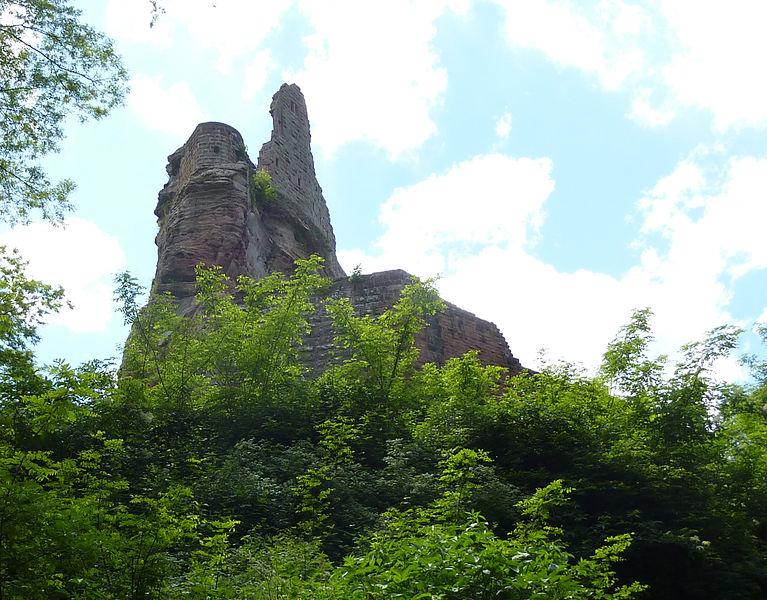 Burg Fleckenstein bei Lembach (Elsass) - Château du Fleckenstein