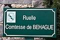 Fleury-en-Bière - Ruelle Comtesse de Behague - 2012-12-02 - IMG 8514.jpg