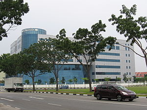 Flextronics - Flextronics' Singapore headquarters in August 2006.