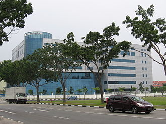 Flex (company) - Flextronics' Singapore headquarters in August 2006