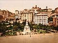 Flickr - …trialsanderrors - Piazza Acquaverde, Genoa, Italy, ca. 1895.jpg