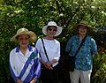 Flickr - brewbooks - Setsuya, Hiroko, and Mary Ellen at John M's Garden.jpg