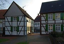 Fliericher Kirchplatz in Bönen