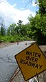 Flooded Columbia River 2011- Water over Roadway Sign.jpg
