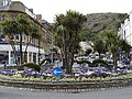 Floral roundabout, Llandudno - geograph.org.uk - 1718742.jpg