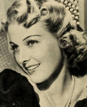 Florence Rice - pictured in 1940