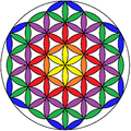Flower of Life rainbow2.png