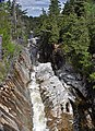 Flume Falls (West Branch of the AuSable River) (Wilmington Flume, Adirondack Mountains, New York State, USA) 5 (20095207222).jpg