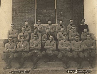 Marion Military Institute - MMI football team, the state champion of 1912