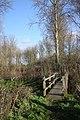 Footbridge over the Black Bourn - geograph.org.uk - 1596259.jpg