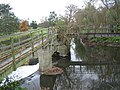 Footbridges and weir on the Yeo - geograph.org.uk - 278918.jpg