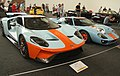 Ford GT 2018 and Ford GT 1968 at Legendy 2019 in Prague (cropped).jpg