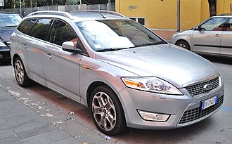 Station wagon - 2009 Ford Mondeo