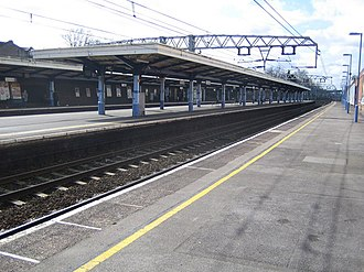 Forest Gate railway station - Forest Gate railway station in 2007