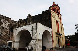 Former Dominican Convent and Assumption of Mary Churh, Yautepec, Morelos State, Mexico 05.jpg