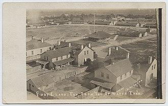 Fort Clark, Texas - Circa 1910-1918