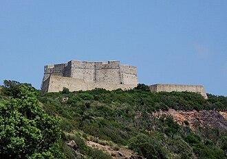 Porto Ercole - Image: Forte Stella Porto Ercole (GR)