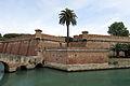 Fortezza Nuova seen from via degli Avvalorati, Livorno.jpg
