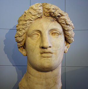 Fortuna Huiusce Diei - Colossal head believed to be that of the cult statue of Fortuna Huiusce Diei
