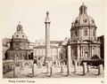Fotografi av Roma. Colonna Traiana - Hallwylska museet - 104726.tif