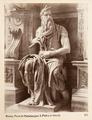 Fotografi av Roma. Mosè di Michelangelo, S. Pietro in Vincoli - Hallwylska museet - 104735.tif
