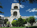 France Arles Theatre Antique Tower South.jpg