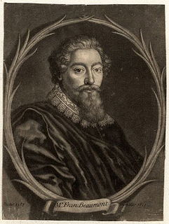 Francis Beaumont 16th/17th-century English playwright