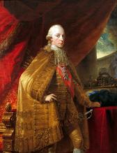 Franz II after his coronation as emperor