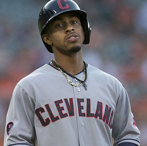 Francisco Lindor - Lindor with the Cleveland in 2015