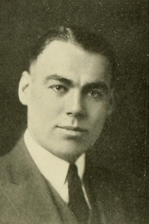 Frank Morrissey - Morrissey pictured in Sub Turri 1921, Boston College yearbook