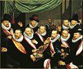 Frans Pietersz de Grebber - Maaltijd van officieren van de St. Jorisdoelen 1618.jpg
