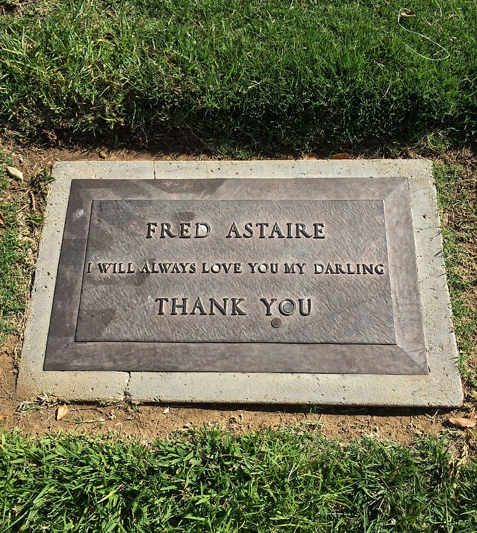 Fred Astaire Grave