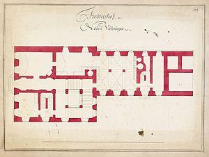 Carl Fredrik Adelcrantz - Image: Fredrikshovs slott ritning 1774