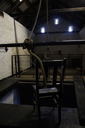 Capital punishment in Australia - The gallows, last used in 1964