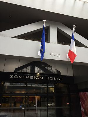 France–New Zealand relations - Image: French Embassy in Wellington