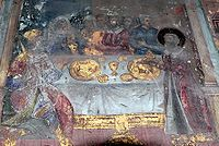 Fresco west wall Dimitry Church in Vologda.JPG