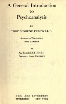 Freud - A general introduction to psychoanalysis.djvu