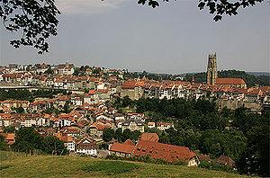 Fribourg Stadtansicht