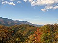 From the Blue Ridge Parkway, looking up to the Black Mountains - panoramio.jpg