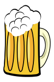 Frosty beer mug.svg