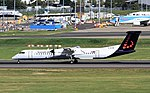 G-ECOK DHC-8-402 Brussels Airlines BHX 29-09-2016 (30555734200).jpg