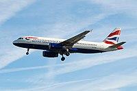 G-TTOB - A320 - British Airways