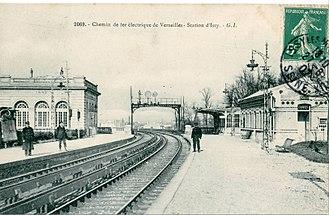 Issy–Val de Seine station - Image: GI 2069 Chemin de fer électrique de Versailles Station d'Issy