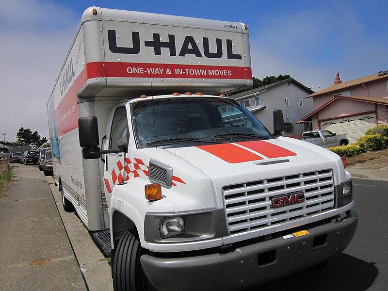 File:GMC U-Haul truck front 1.JPG