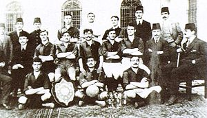 1910–11 Galatasaray S.K. season - Istanbul Sunday League - Galatasaray SK 1910-11 Champion