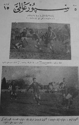 1926–27 Galatasaray S.K. season - Galatasaray 5 Vefa 2