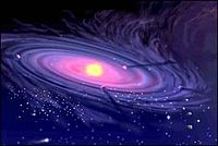 Image of a galaxy.